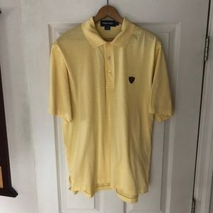 Vintage Ralph Lauren Golf Yellow Polo Medium